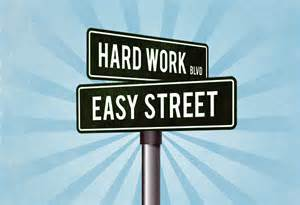 Hard Work Street Signs from Google Images
