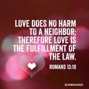 Romans 13:10 from Google Images