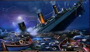 The Sinking of the Titanic from Bing Images